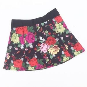 Ted Baker Floral Print Skirt